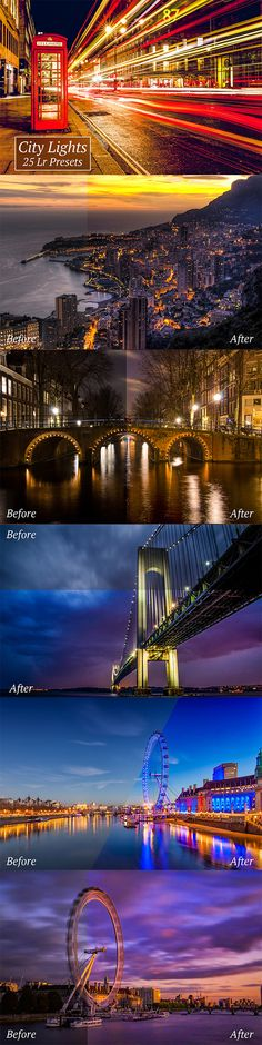 25 Adobe Lightroom presets to enhance your landscape city shots