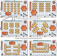 ways to arrange classroom desks - Google Search