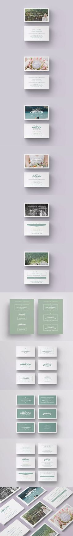 Flowers Business Card Template By Agatacreate On Creativemarket