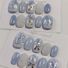 Pin on ネイルデザイン Fall Nail Art, Cute Nail Art, Cute Acrylic Nails, Cute Nails, Korean Nail Art, Korean Nails, Gel Nail Designs, Cute Nail Designs, Nail Jewelry