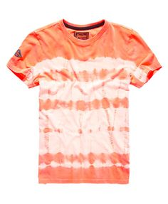 Superdry Camiseta Orange Label Tie Dye