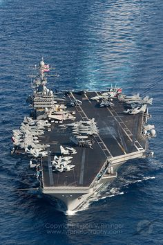 Carrier Strike Group Two conducts sea trials in the Atlantic prior to deployment - Tomcat Final Deployment American Aircraft Carriers, Model Warships, Uss Theodore Roosevelt, Carrier Strike Group, Navy Carriers, Navy Aircraft Carrier, Go Navy, Capital Ship, F-14 Tomcat