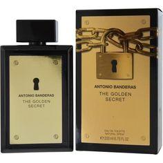 Antonio Banderas The Golden Secret By Antonio Banderas Edt Spray 6.7 Oz
