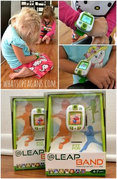 These new LeapBand activity tracker watches from @LeapFrog are so awesome!! #FitMadeFun #ad