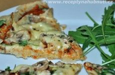bezlepkova-pizza Quinoa, Food Inspiration, Pizza, Gluten Free, Menu, Healthy Recipes, Chicken, Fitness, Breakfast