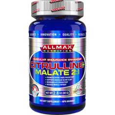 sports-fitness-athletic: ALLMAX Nutrition, 100% Pure Citrulline Malate+ Max...