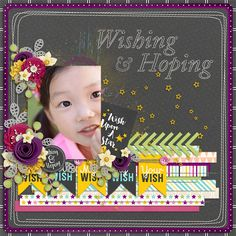 Wishing And Hoping Collection by Akizo Designs http://www.thedigichick.com/shop/Akizo-Designs/ March Template by Kimeric Kreations Photo : Charmy