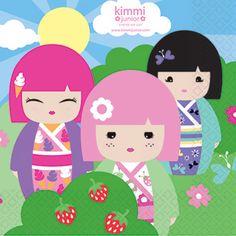 kimmi junior partypaper napkins 2ply£2.4920pk