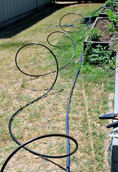 How to make a #DIY irrigation system #DIY #garden