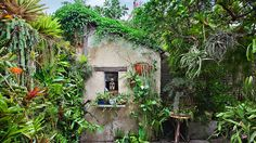 Check out these contemporary city gardens for tons of tight ideas for small outdoor spaces