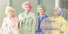 TatuandoModa: Galeria Colorida- Vovós coloridas
