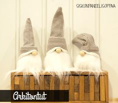 White Christmas, Christmas Crafts, Christmas Things, Gnomes, Diy And Crafts, Lifestyle, Gifts, Xmas Ideas, Home Decor