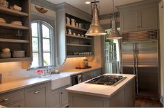 this sally wheat kitchen is my dream!