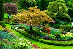Butchard Garden Van Couver Island