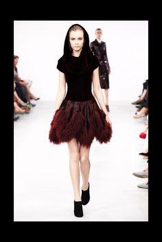 Azzedine Alaïa Fall 2011 Couture Fashion Show - Josephine Skriver (IMG)