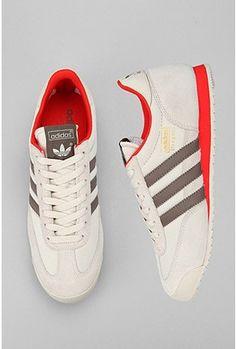 cool dude shoes. adidas dragon.