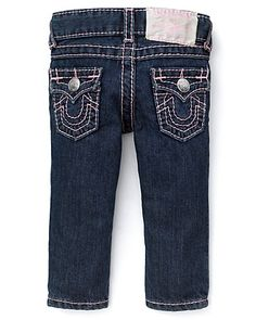True Religion Infant Girls' Baby Julie Jeans - Sizes 6-18 Months | Bloomingdale's
