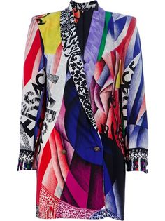 GIANNI VERSACE VINTAGE printed jacket | The House of Beccaria