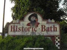 """Bath is the oldest city in NC, home of Edward Teach aka """"Blackbeard"""""""