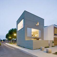 Stripe House - GAAGA Studio for Architecture - Leiden, Netherlands