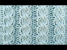 """Cross Stitch Cable is a """"mock"""" cable stitch since the crossing is accomplished with slip stitches rather than a cable needle. This stitch is a 4 row repeat and is knitted in a multiple of 6 stitches. Cable Knitting, Knitting Videos, Sweater Knitting Patterns, Knitting Stitches, Knitting Socks, Knit Patterns, Free Knitting, Stitch Patterns, Cable Needle"""