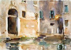 John Singer Sargent:Venice ca 1903