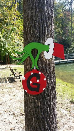 Fall time SAVINGS!!!! 25% off your purchase until 11/28/2014. Just use the coupon code THANKS25 Thanks!! Grinch door hanger is the perfect