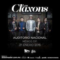 Los Claxons en el Auditorio Nacional