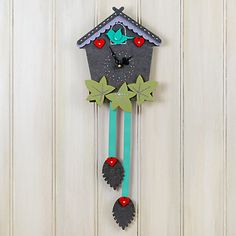 buy the makery make your own cuckoo clock craft kit online at