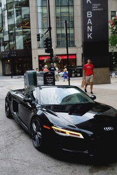 Audi r8 black edition  one day I will own one
