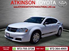 2014 Dodge Avenger SE 19k miles $12,988 19454 miles 972-755-3728  #Dodge #Avenger #used #cars #AtkinsonToyotaSouthDallas #SouthDallas #TX #tapcars