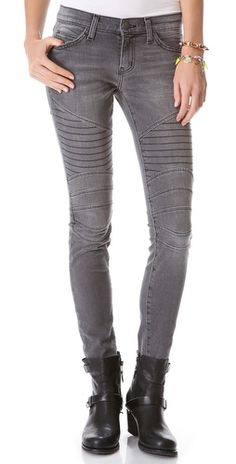 Current/Elliott The Moto skinny jean from Shopbop. $268  Swoon.