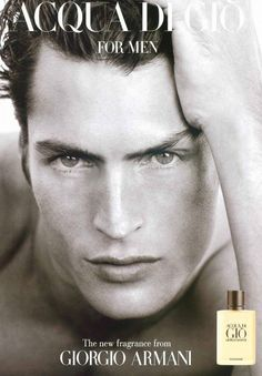 Larry Scott, 1997 for Aqua di Gio, photo by Herb Ritts. Shoot took 20 minutes  Really, Really Good-Looking: 25 of the Biggest Male Models of All Time?url=http://www.style.com/slideshows/slideshows/trends/industry/2015/06-june/top-25-male-models-of-all-time/slides/14