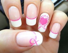 Breast Cancer Awareness Nails!...Love It!
