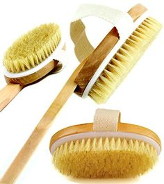 Find best price for Bath Shower Brush Long Handle Detachable - Best Natural Boar Bristle Back Brush for Shower - Exfoliating Body and Cellulite Brush Massager Suitable for Men and Women Benefits Of Dry Brushing, Dry Body Brushing, Face Scrub Brush, Best Electric Pressure Cooker, Exfoliating Gloves, Boar Bristle, Bath Brushes, Exfoliate Face, Skin Care Tips