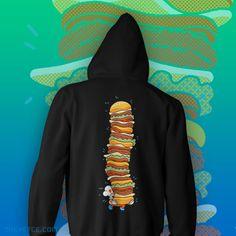 #burgertime hoodie Hoodies, Sweatshirts, Zip Hoodie, Sweaters, Fashion, Moda, La Mode, Sweater, Hoodie
