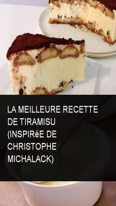 The best tiramisu recipe (inspired by Christophe Michalack) Source by Chefs, Mascarpone Cake, Mousse, Thermomix Desserts, Food Trends, Pavlova, Gluten Free Recipes, Flan, Sweet Tooth