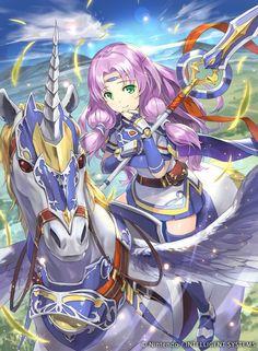 Florina as a Falcon Knight Metroid, Fire Emblem Characters, Fantasy Characters, Fire Emblem Lyn, Create Your Own Adventure, Manga Illustration, Fantasy Character Design, Fantasy Girl, Fan Art