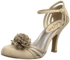 Ruby Shoo NEW Electra light pink cream high heel fashion shoe boots sizes 3-8