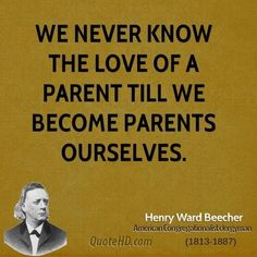 So true.  I've always loved kids but until I became a mom I didn't truly understand how deep that love goes!