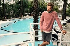 sweater with classic shorts