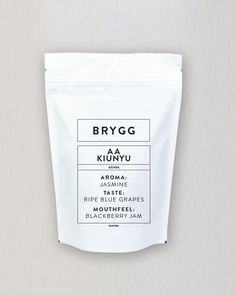 BRYGG AA KENYA KIUNYU from Nordic Approach  Roasted by: Måns Akne Andersson