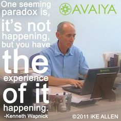 NoThing is happening...with Ken Wapnick. www.avaiya.com/kenwapnick  #acourseinmiracles #acim #spiritjunkie