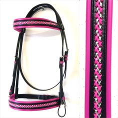 Bridle with Laced Browband/Noseband