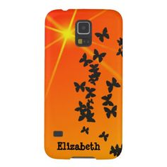 Orange Summer Theme Phone Case Cases For Galaxy S5