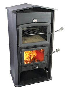 Garden & Patio Precise Wood Fired Pizza Oven 90cm Black Deluxe-extra-corner Orange-brick Package Easy To Repair