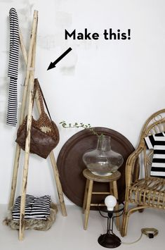 How-to: Make A Scandinavian-inspired Coat Stand