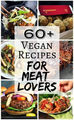 Whether you're a vegan wanting to veganize some of your favourite pre-veg recipes or a vegan cooking for omnivores, in this roundup of vegan recipes for meat lovers there's sure to be something for everyone!