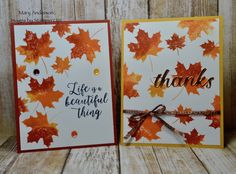 Colorful Seasons Images Of Mary, Homemade Greeting Cards, Stampin Up, Colorful, Seasons, Card Ideas, Catalog, Beautiful, Fall