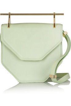 M2Malletier Amor Fati leather shoulder bag | NET-A-PORTER